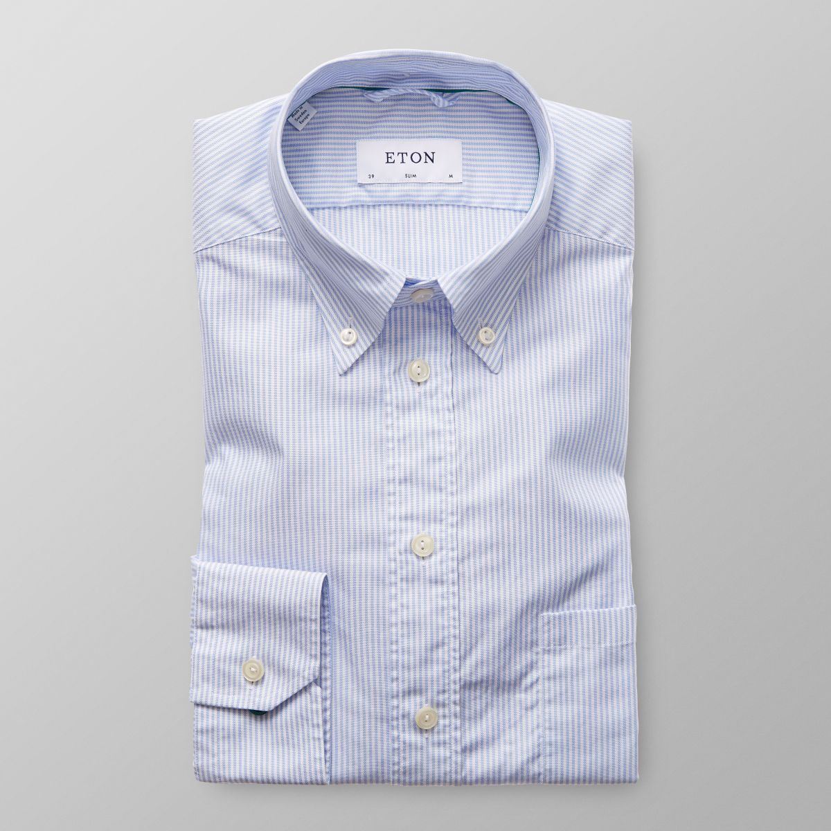 Tommy Hilfiger women's shirt. It's your favorite oxford, tailored for the girls in a borrowed-from-the-lads stripe. • Classic fit. • % cotton.