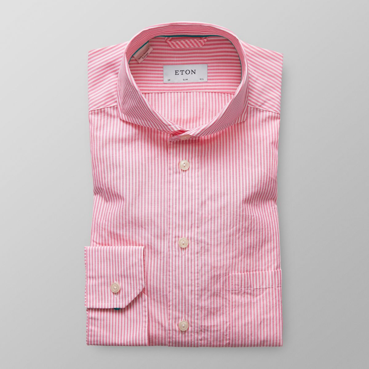 Pink Striped Shirt Kamos T Shirt