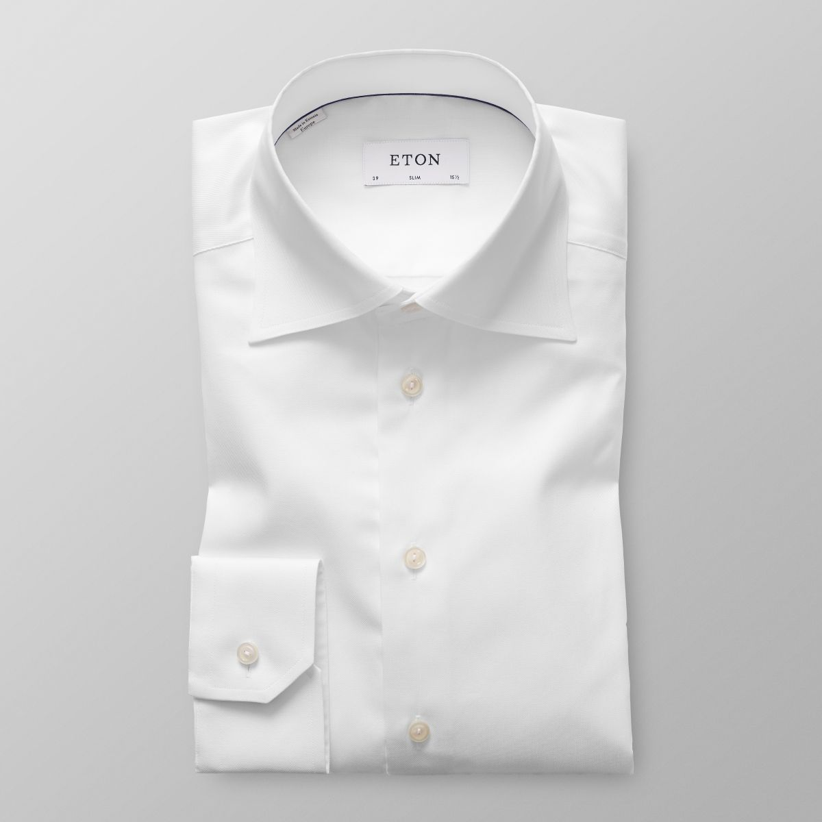 White High Cutaway Shirt Slim Eton Shirts Uk