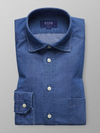 Denim Cut Away Shirt