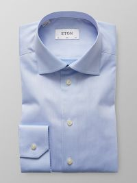 Light Blue Signature Twill Shirt