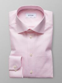 Pink Hounds Tooth Shirt