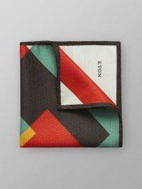 Multicolour Silk Pocket Square