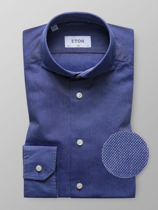 Dark Blue Oxford
