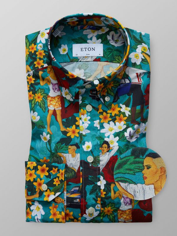 Modern Hawaii Shirt
