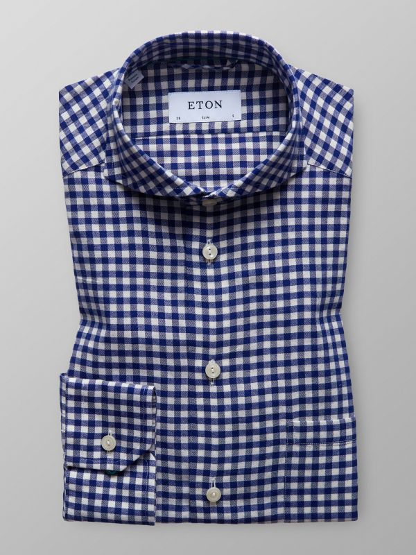 Blue Checked Shirt