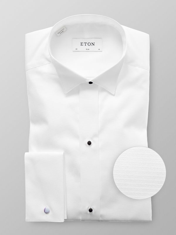 White Wing Collar Evening shirt
