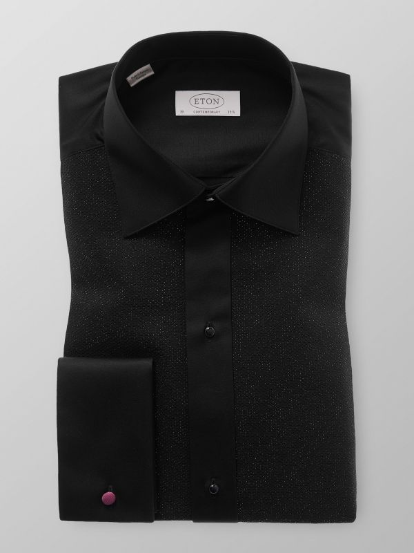 Black Evening Shirt