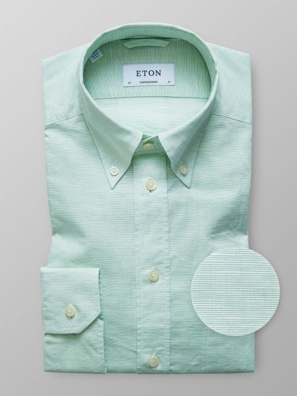 Green - Unique and innovative shirts | Eton Shirts US
