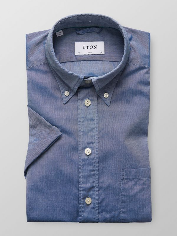 Blue Superlight Button-Down Shirt