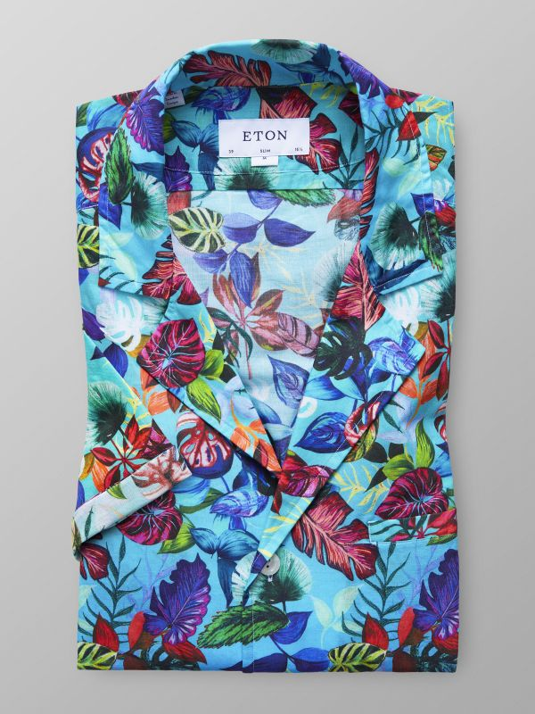 Hawaii Print Resort Shirt