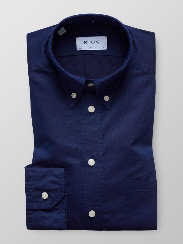 Navy Lightweight Jeans Shirt