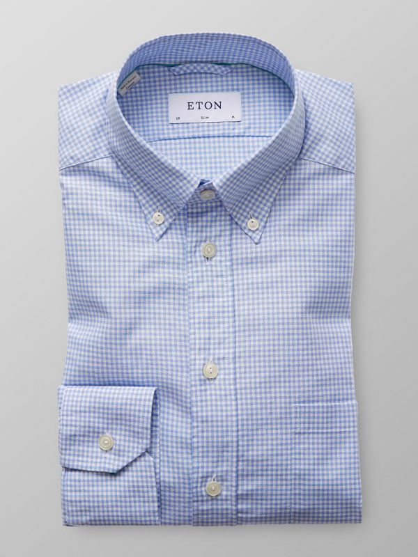 Blue Check Oxford Shirt