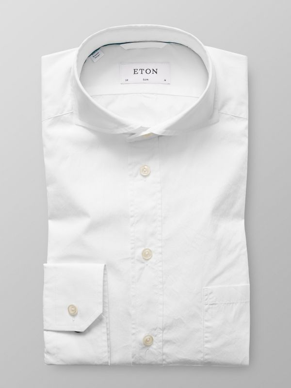 White Superlight Poplin Shirt