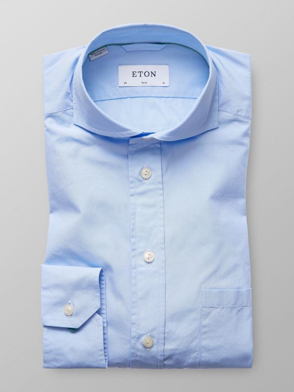 Light Blue Superlight Poplin Shirt