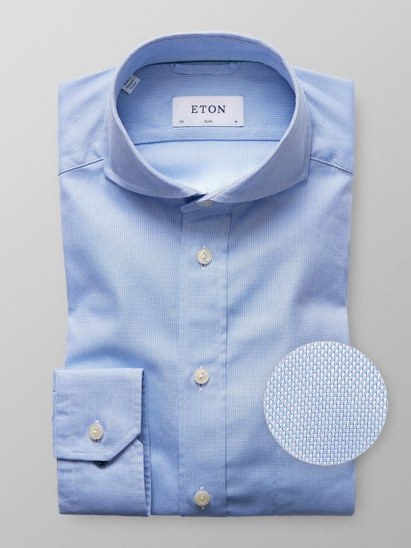 Blue Fine Oxford Shirt