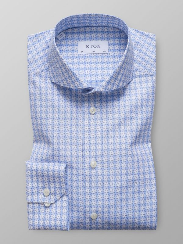 Floral Gingham Check Shirt