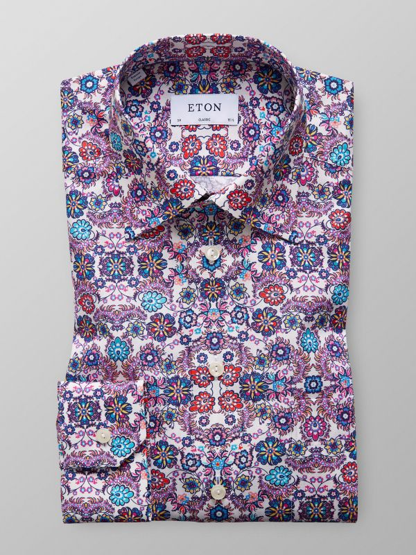 Multi Colour Floral Shirt