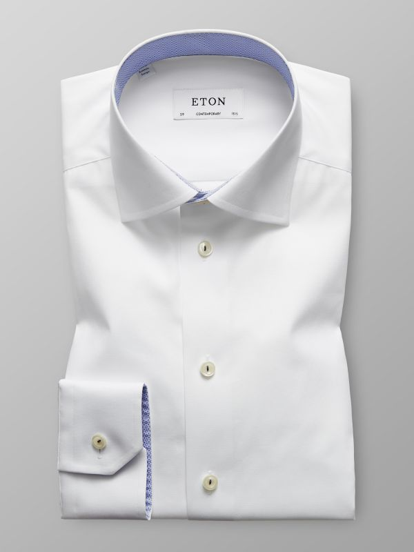 White Trim Details Shirt