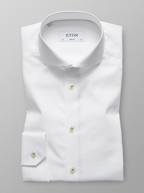 White Poplin Shirt with Details