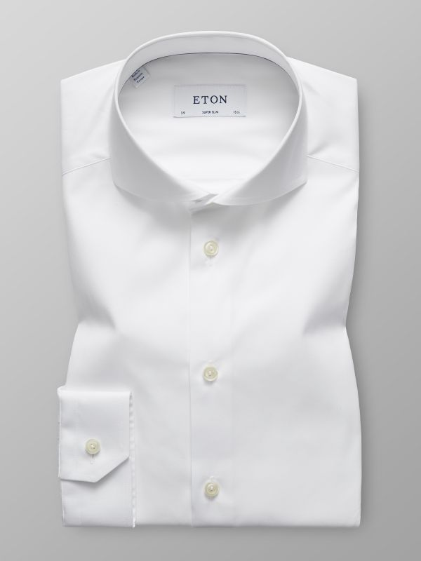 White Plain Poplin Shirt