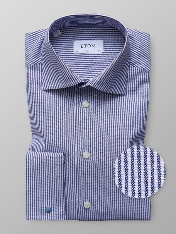 Striped French Cuff Shirt