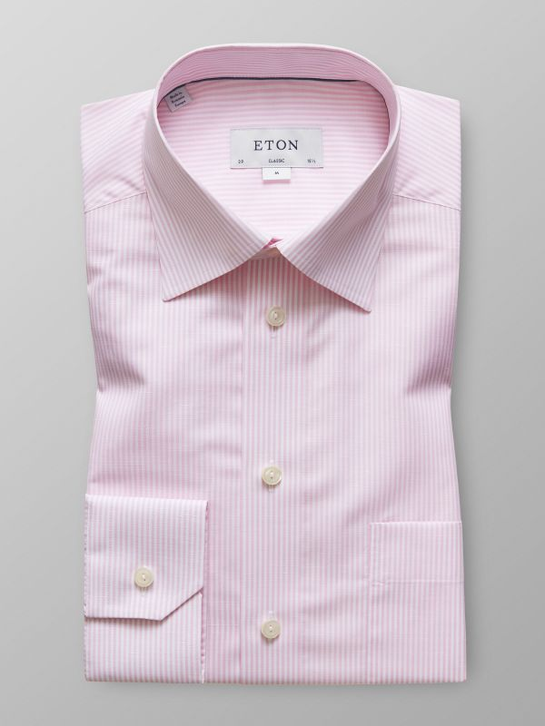 Pink Cotton & Linen Shirt