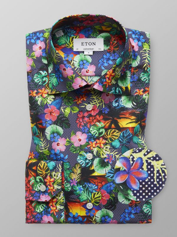 Hawaii Print Shirt