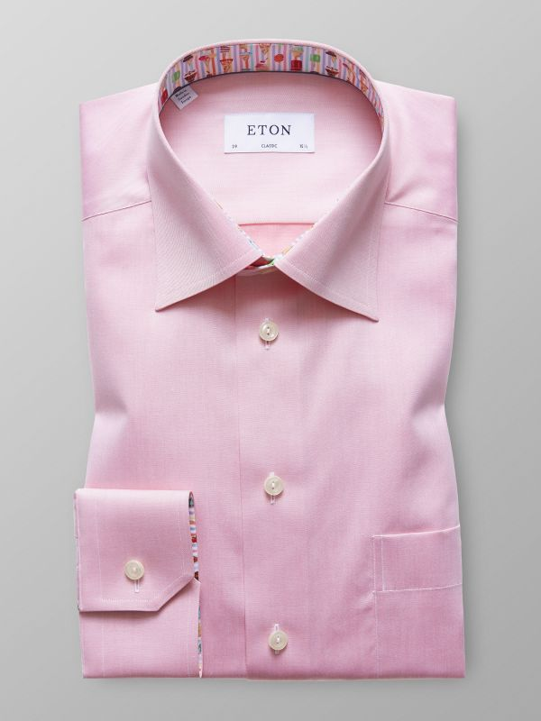 Pink Shirt - Ice Cream Details