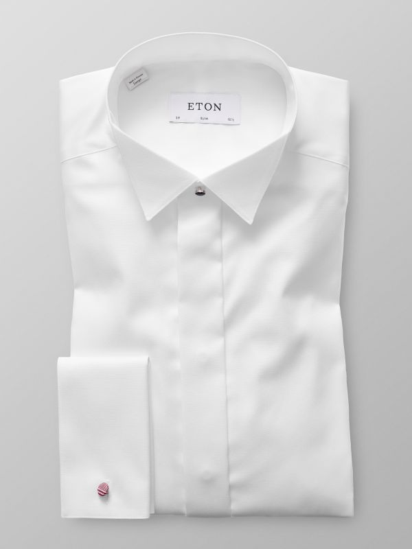 Wing Collar Evening Shirt