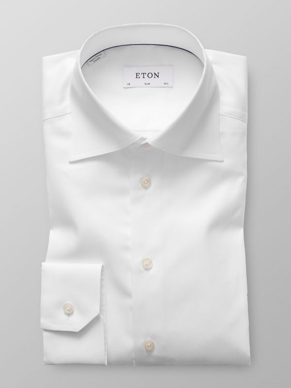 White High Cutaway Shirt