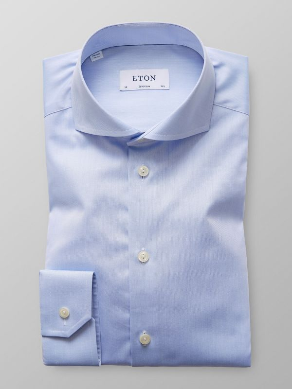 Sky Blue Extreme Cut Away Shirt