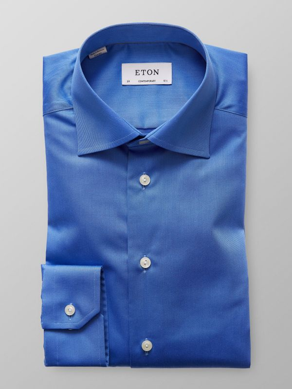 French Blue Signature Twill Shirt
