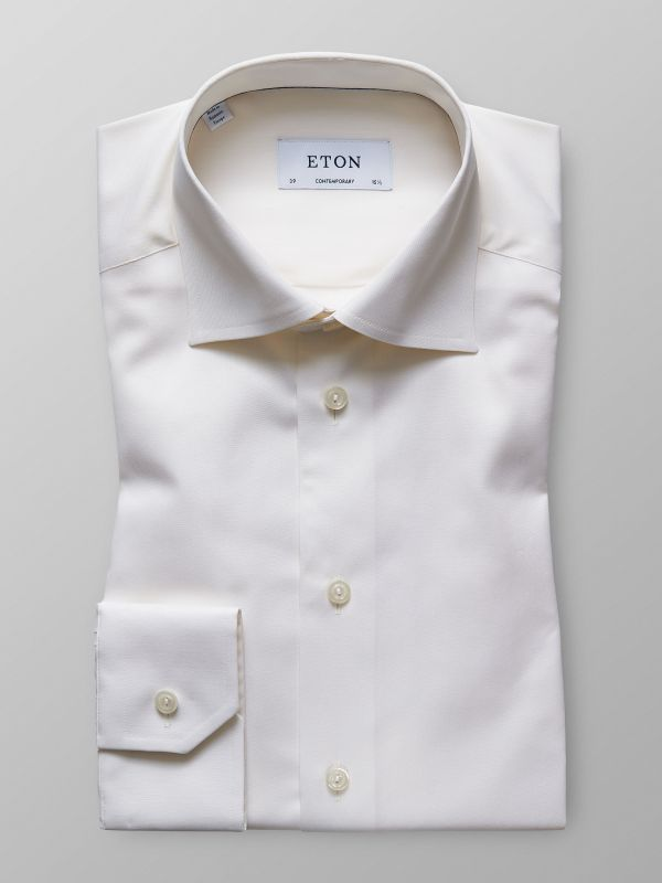 Off-White Twill Shirt