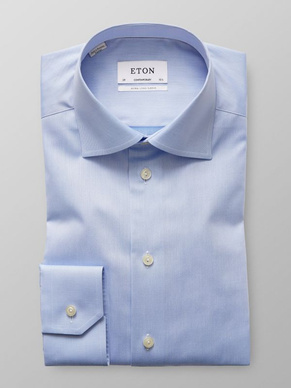 Light Blue Extra Long Sleeve Shirt