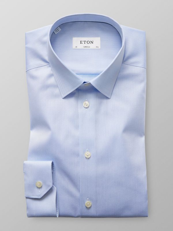 Light Blue Point Collar Shirt