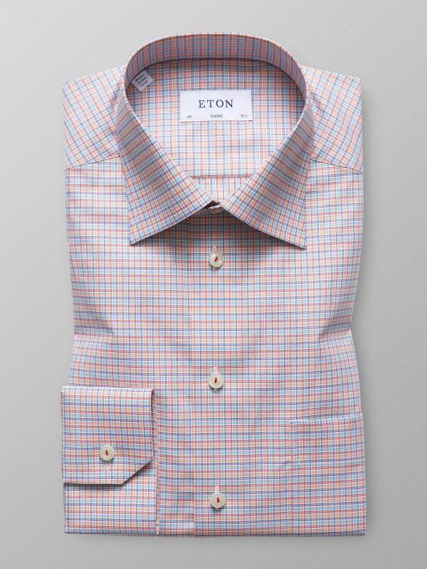 Multi Colour Check Twill Shirt