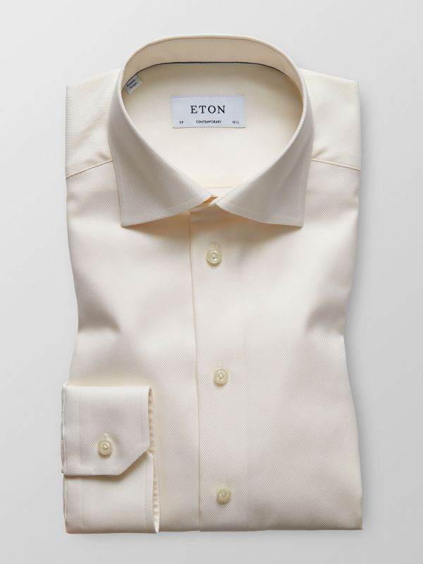 Off-White Textured twill shirt