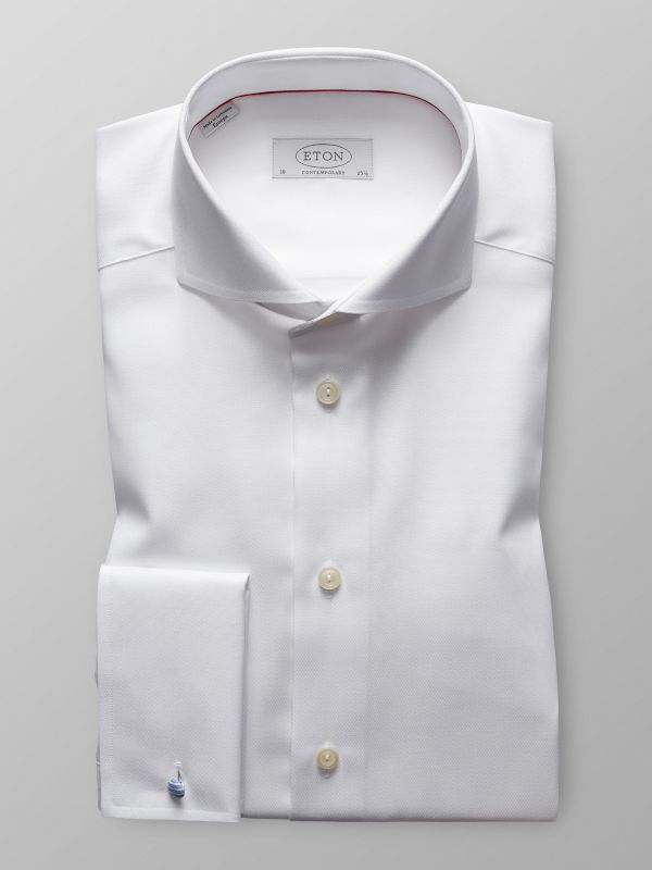 White Shirt With French Cuffs