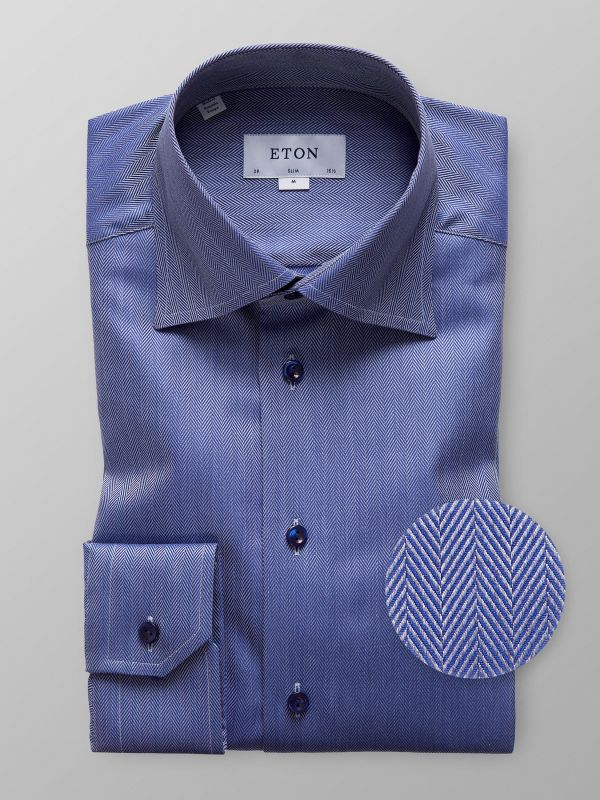 Twill Herringbone Shirt
