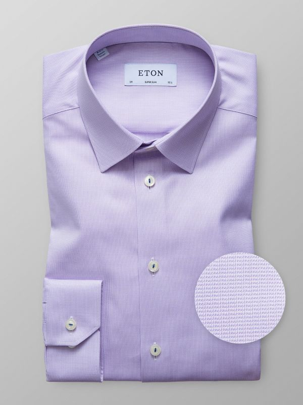 Purple Fine Twill Shirt