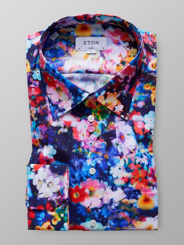 Multicolour Floral Print Shirt