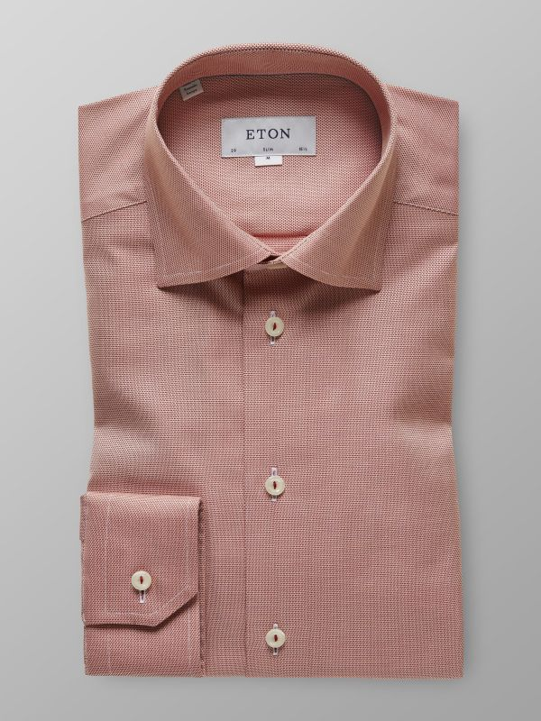 Orange Twill Shirt