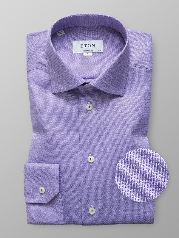 Purple Twill Shirt