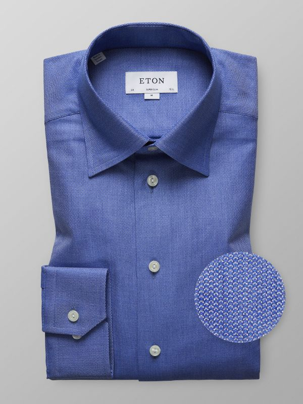 Blue Indigo Effect Shirt