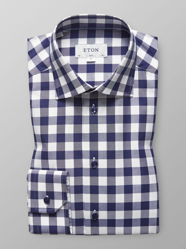 Bold Gingham Check Shirt