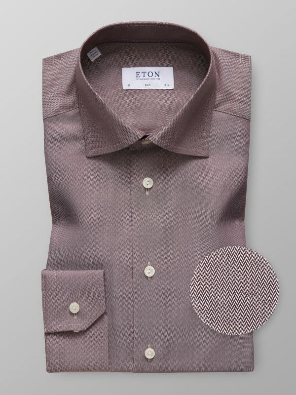 Brown Twill Shirt