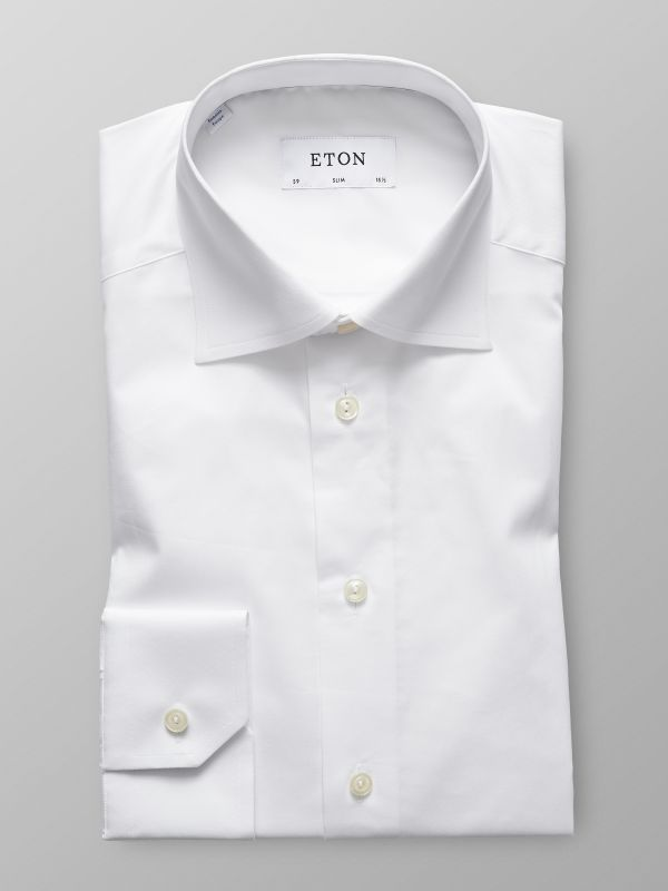 White Twil Stretch Shirt