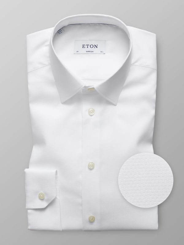 White Natural Stretch Shirt