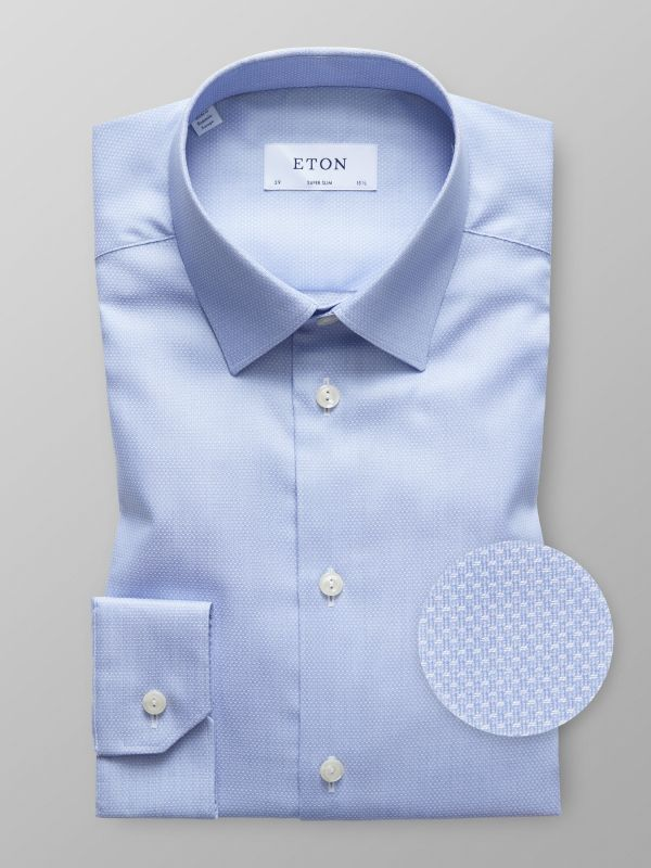 Blue Natural Stretch Shirt